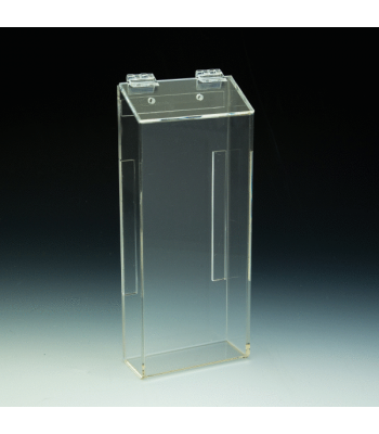 Clear Outdoor Trifold Brochure Holder