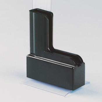 Moulded Plastic Base W/ Permanent Adhesive