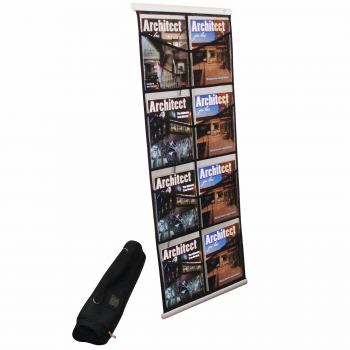 8 Pocket Brochure Floor Stand