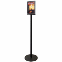 Double Sided Print/Menu Floor Stand